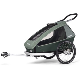 Croozer Kid Vaaya 1 Trailer para niños, jungle green